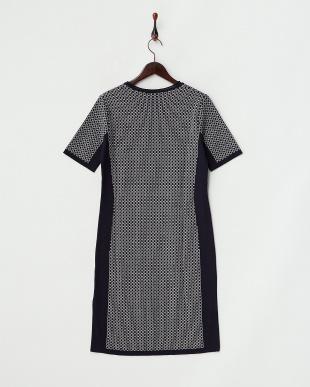 ネイビー系  GALLIA Knitted Dress見る
