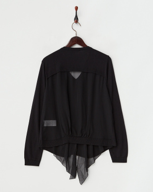 ブラック  MAIA Knitted Jacket見る