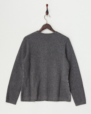 DARK GREY MANAROLA Knitted Jacket見る