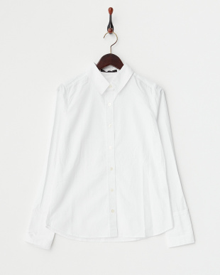 ホワイト  アゼアミニットPO+ロングカフスシャツ見る