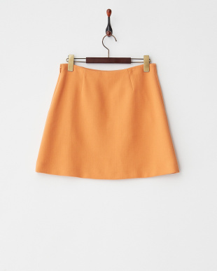 アプリコット DOUBLE FACE CREPE MINI SKIRT見る
