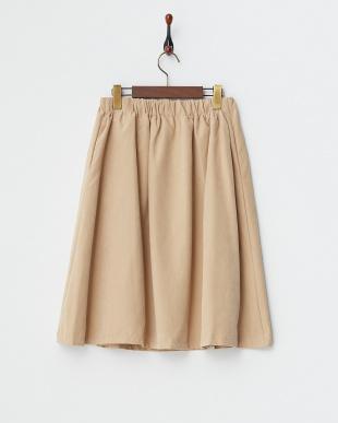 ベージュ  フレアスカート見る