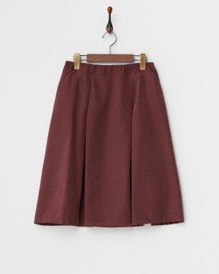 ボルドー  フレアスカート見る