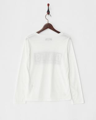 ホワイト  DAISロングTシャツ見る