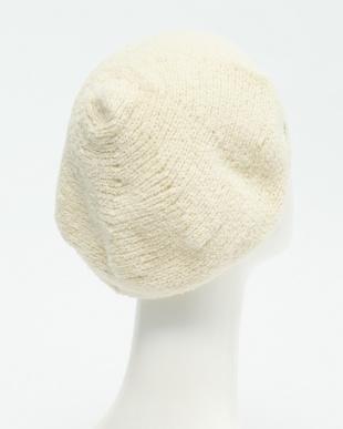 WH  刺繍ニットベレー帽見る