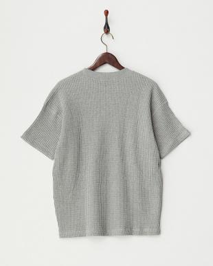 杢GRY  ビッグワッフルポケットTシャツ見る