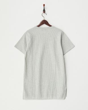 杢GRY  サイドスリットワッフルBIG Tシャツ見る
