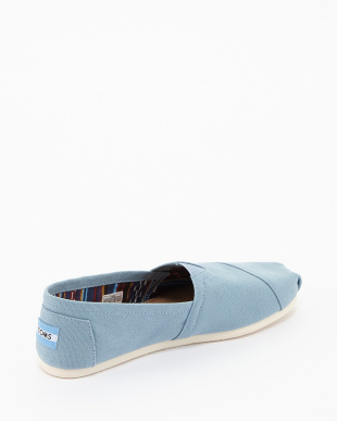 TOMS Blue  Canvas SEASONAL CANVAS CLASSICS見る