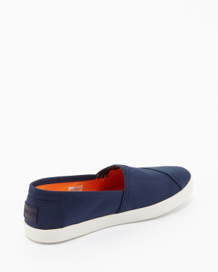 Navy Nylon Military AVALON SNEAKER SLIP-ONS見る