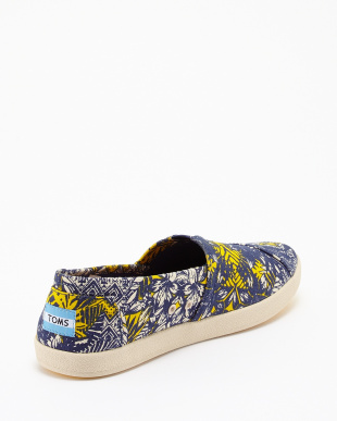 Blue Tropical Palm AVALON SNEAKER SLIP-ONS見る