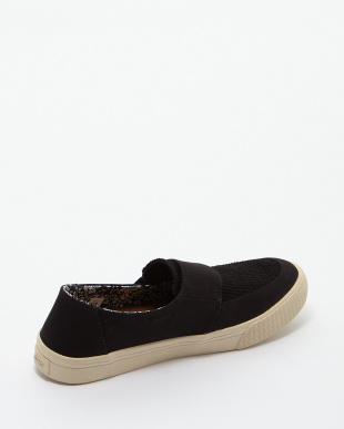 Black Canvas ALTAIRS SLIP-ON見る
