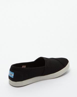 Black Mesh AVALON SLIP-ON見る