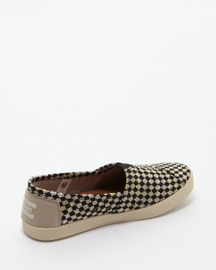 Black Tan  Woven AVALON SLIP-ON見る