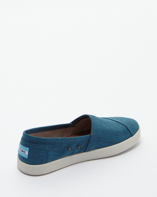 Blue  Brushed Nylon AVALON SLIP-ON見る