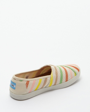 Multi Mesh Stripe AVALON SLIP-ON見る