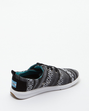 Black/White Cultural Woven  DEL REY SNEAKERS見る