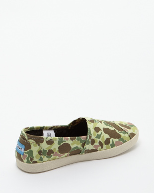 Duck Hunter Camo AVALON SLIP-ONS JAPAN SMU見る