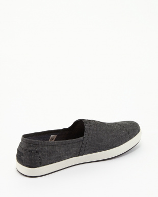 Black Chambray AVALON SLIP-ONS見る
