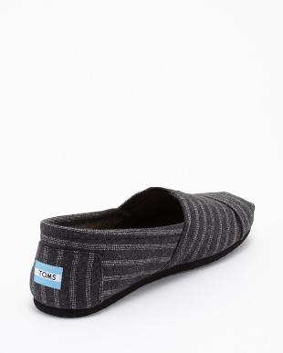 Black Wool Stripe SEASONAL CLASSICS見る