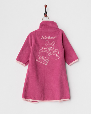 ピンク  着る毛布ベビーNuKME 『りらっくま』見る
