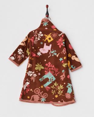 ブラウン  着る毛布ベビーNuKME 『アトリエLZC』見る