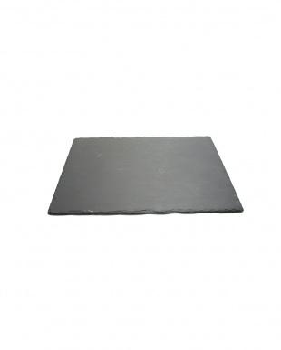 ブラック天然スレート 20×20cm見る