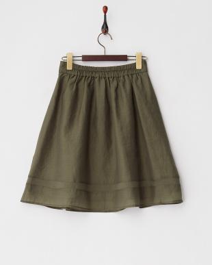 カーキグリーン  オーガンジースカート見る