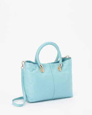 アクア  BENSON SMALL CROSSBODY SOFT TOTE見る