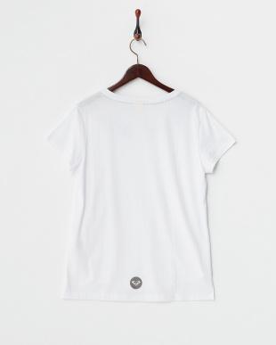 WHT  FOUNTAIN リフレクターロゴTシャツ見る