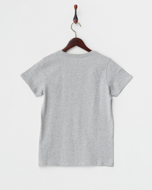 GRY HEART AND スクエアプリントTシャツ見る