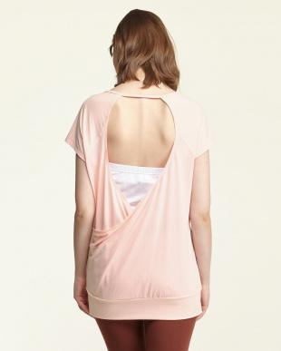 MDA0  CLARITY TEEオープンバックTシャツ見る