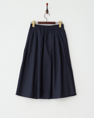 NAVY タックミディ丈スカート見る
