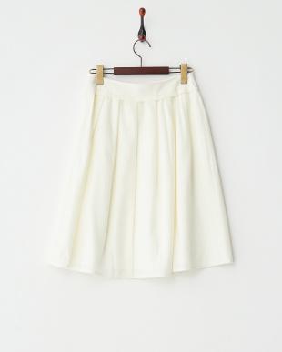 OFF WHITE  ウエストヨークギャザースカート見る