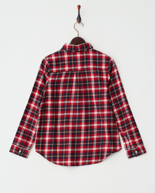 RED  チェックカシュクールシャツ見る
