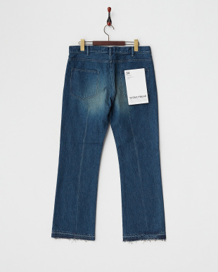 FADE DAMAGE FLARE DENIM PANTS見る