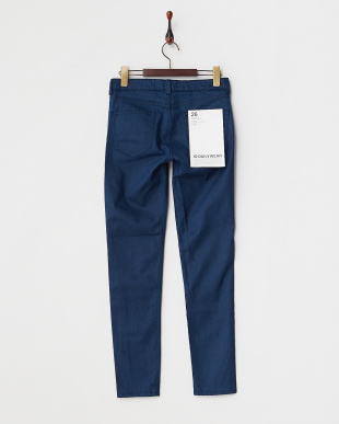 INDIGO  BASIC SLIM STRECH DENIM PANTS見る