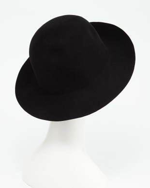 BLACK  CRUSHABLE HAT見る