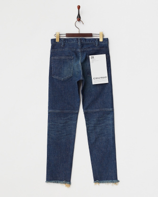 FADE  14.5OZ DAMAGE SLIM STRAIGHT DENIM PTS見る