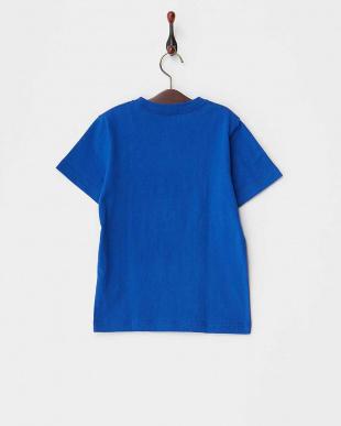 ブルー  WALL STREET KIDS プリントTシャツ見る