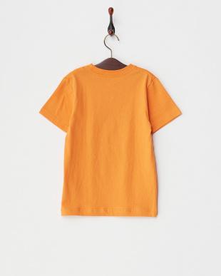 オレンジ  SEAGULL RAISERS KIDS プリントTシャツ見る