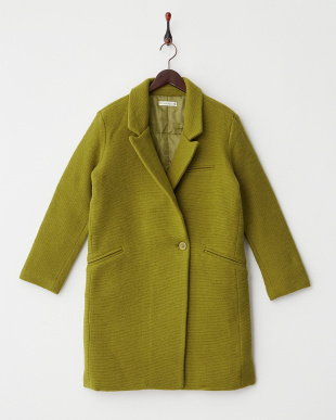 グリーン  wool chester coat見る