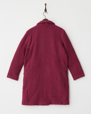 ライトパープル  wool chester coat見る