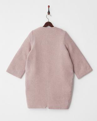 ライトピンク  cocoon wool coat見る