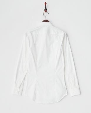ホワイト 長袖シャツ見る