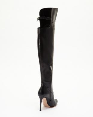 ブラック Knee High Boots見る
