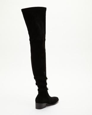ブラック High Boots Suede見る