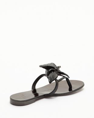 ブラック Flat Sandal Cors見る