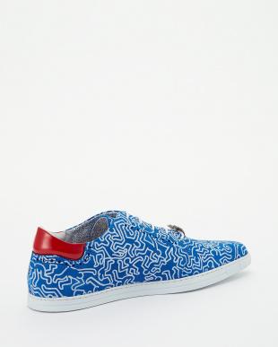 ブルー×ホワイト  Keith Haring P見る