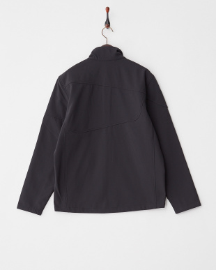 ブラック  M FRESH AIR  SOFTSHELL JACKET見る