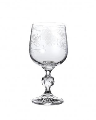 カリクリスタルガラス ワイングラス6客セット見る